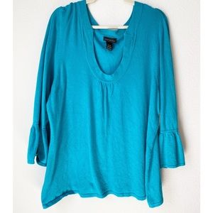 Lane Bryant Bell Sleeve Sweater Top Size 18/20